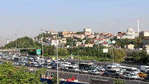 FSM Köprüsündeki çalışmanın 2. gününde trafik yoğunluğu sürüyor