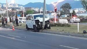 Fatsada otomobil ile minibüs çarpıştı: 7 yaralı