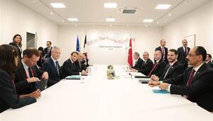 Cumhurbaşkanı Erdoğandan art arda kritik toplantılar