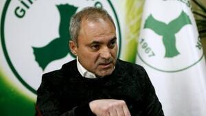 Erkan Sözeri, opsiyonunu Giresunspordan yana kullandı