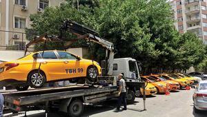 Taksicilere örgüt operasyonu