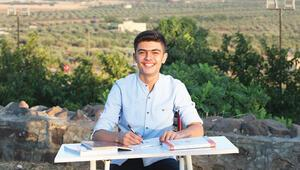 Suriyeli Muhammed hepimize hayat dersi veriyor... Savaşın gölgesinden Türkiye birinciliğine