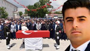 Şehit Astsubay Adem Tunç son yolculuğuna uğurlandı