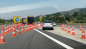 TEM otoyolunu kullanacak sürücüler dikkat