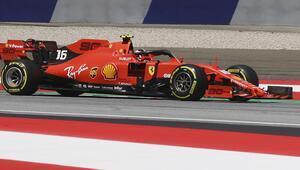 Avusturyada pole pozisyonu Leclercin