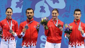 Avrupa Oyunlarında karatede 4 madalya