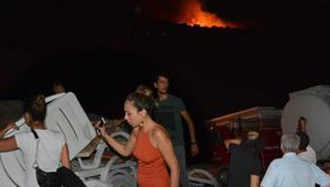 Son dakika Datçadaki yangında sabotaj şüphesi... Cami imamı yardım çağrısı yaptı