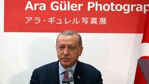 Son dakika... Cumhurbaşkanı Erdoğan, Ara Güler Sergisinin açılışını yaptı