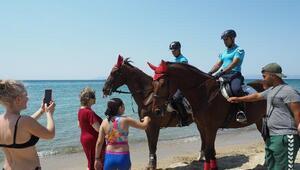 Plajlar, Atlı Jandarma timine emanet