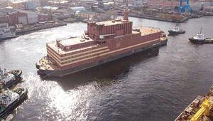 Yüzen Çernobil yola çıkıyor