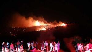 KKTCye düşen cisim patlama ve yangına yol açtı
