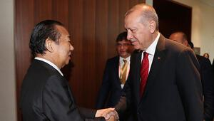 Erdoğan: Türkiye ile Japonya arasında 1,5 asra yaklaşan dostluk bağlarını daha da güçlendiriyoruz