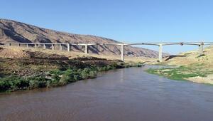 Hasankeyf-2 Köprüsünde son 30 metre