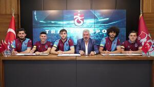 Trabzonsporda 9 genç futbolcu için imza töreni