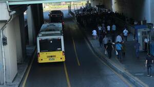İBBden metrobüs seferleri açıklaması