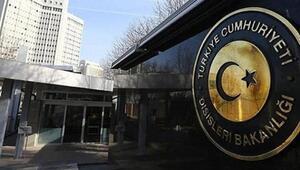Dışişleri Bakanlığından KKTCye düşen füze açıklaması