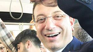 'İstanbulkart'lı başkan tramvayda