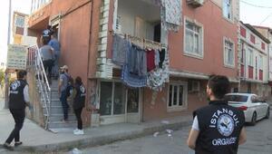 Arnavutköyde organize suç operasyonu: 2 gözaltı