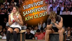 Survivor 2019 şampiyonu kim oldu İşte Survivor Türkiye birincisi