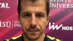 Emre Belözoğlu sağlık kontrolünden geçti