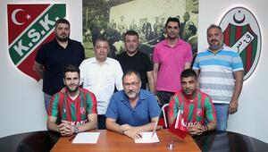 Karşıyaka'da Mustafa Aşan ve Hakan Kuşla sözleşme yenilendi
