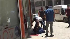 Mardinde eski koca dehşeti; kucağında bebeği olan kadını dövüp, bıçakladı