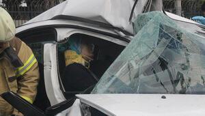Bakırköyde feci kaza