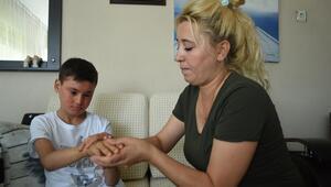 Minik Kayra destek bekliyor Engelli raporu iptal edildi, ilaçlarına yetişemiyorlar
