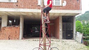 Karadenizli çırağın sıra dışı bisikleti