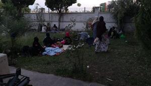 Ayvalıkta 35kaçak göçmen yakalandı