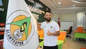 Alanyaspor, Emmanouil Manolis Siopisle 3 yıllık sözleşme imzaladı