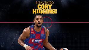 Cory Higgins resmen Barcelonada 3 yıllık sözleşme...