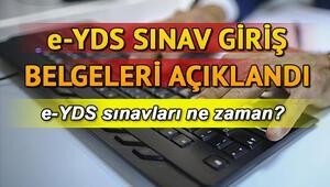 e-YDS sınav giriş yerleri açıklandı e-YDS sınavları ne zaman