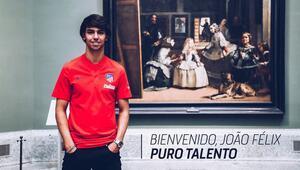 Atletico Madrid, Joao Felixi transfer etti