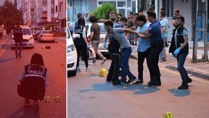 Yer İstanbul... Silahlar çekildi ortalık karıştı