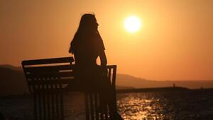 Karadenizde gün batımı güzelliği