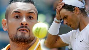 Kyrgiostan bir skandal daha Nadal...