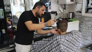 Kuran kursuna katılan öğrencilere ücretsiz tıraş