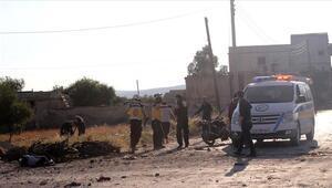 İdlibe hava saldırısı: 4 ölü