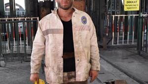 Kömür ocağında işe başlayan futbolcu Yağız: Madenci olarak ter döküyorum