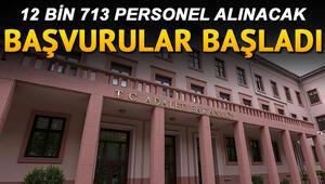 Adalet Bakanlığı binlerce infaz koruma memuru, zabıt katibi, mübaşir ve icra katibi alacak