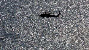 Bahamalar açıklarında helikopter düştü