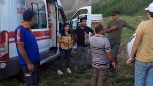 Sülbüs Dağında mantar toplarken düşüp, yaralandı