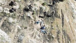 Hasankeyfte yakalanan 2si yabancı 4 terörist tutuklandı