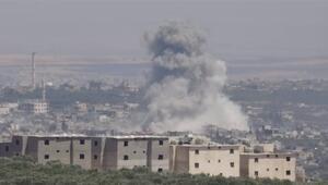 İdlibe hava saldırıları
