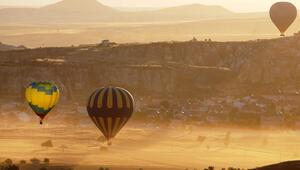 Kapadokyaya 6 ayda havadan 43 milyon avro geldi