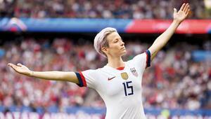 ABD kadın futbol tarihini yeniden yazan lavanta saçlı kadın:Megan Rapınoe