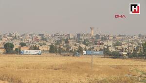 Irak yönünden Suriyeye gelen ABD konvoyu, gündüz görüntülendi