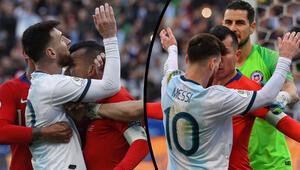 Dünya, Messi - Medel kavgasını konuşuyor Arjantinli yıldızdan tarihi protesto...