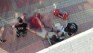 Kırgız genç sokak ortasında öldürüldü